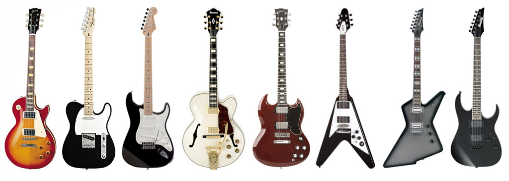 types of electrical guitars electrical guitar lessons at music makers calgary music makers. Black Bedroom Furniture Sets. Home Design Ideas