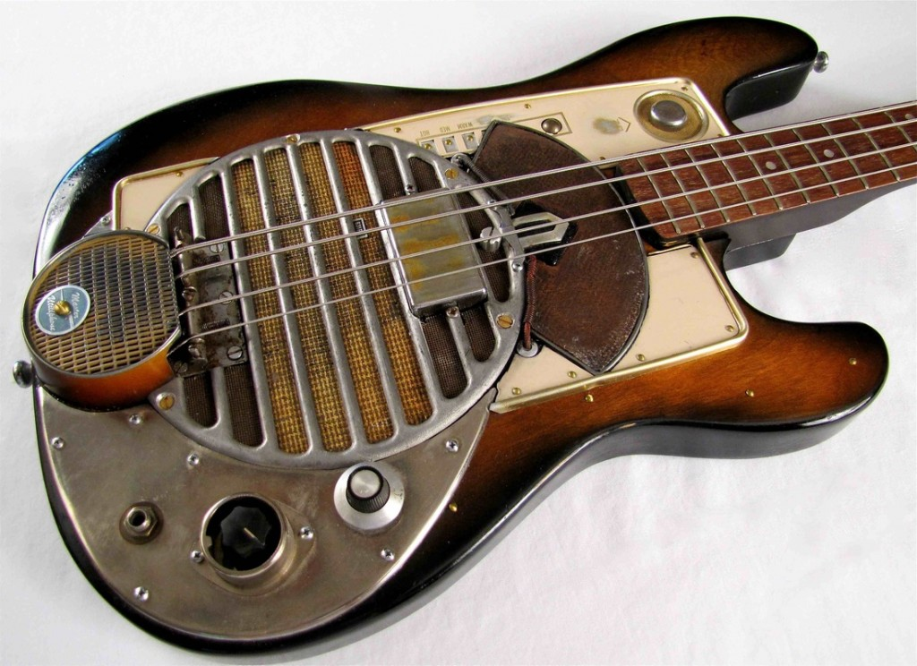 Old Electric Bass - Music Makets Calgary
