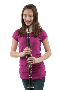 Girl Playing The Clarinet - Music Makers Calgary