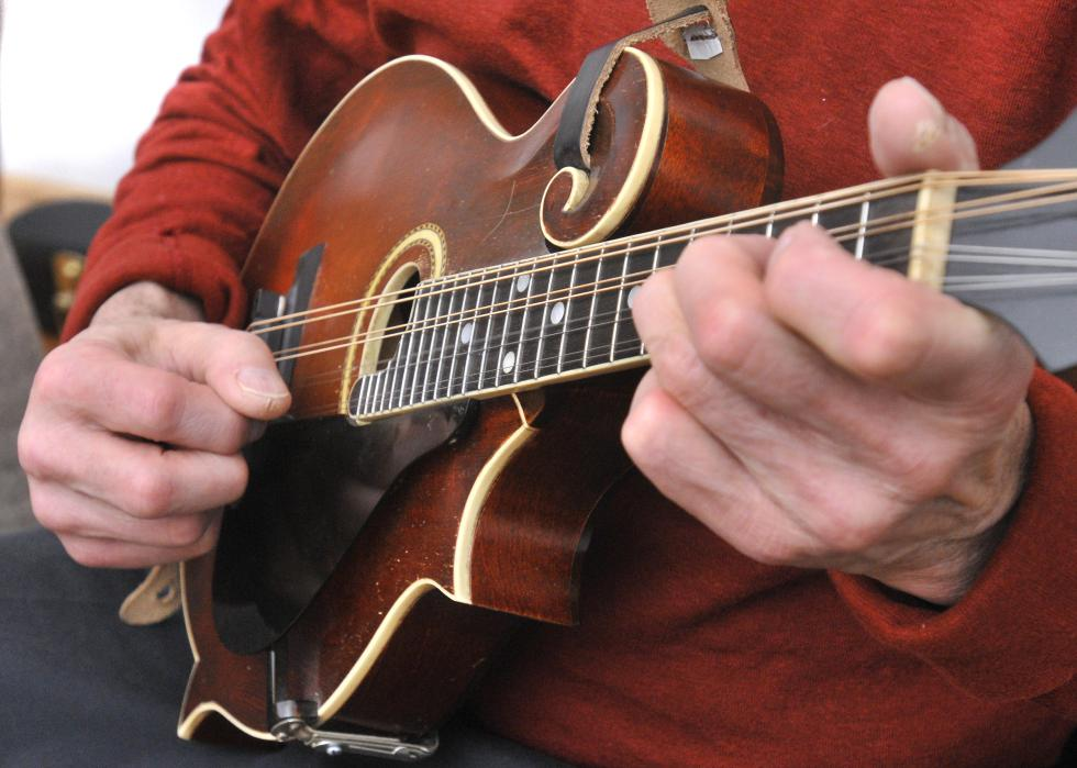 Playing the Mandolin - Music Makers Calgary