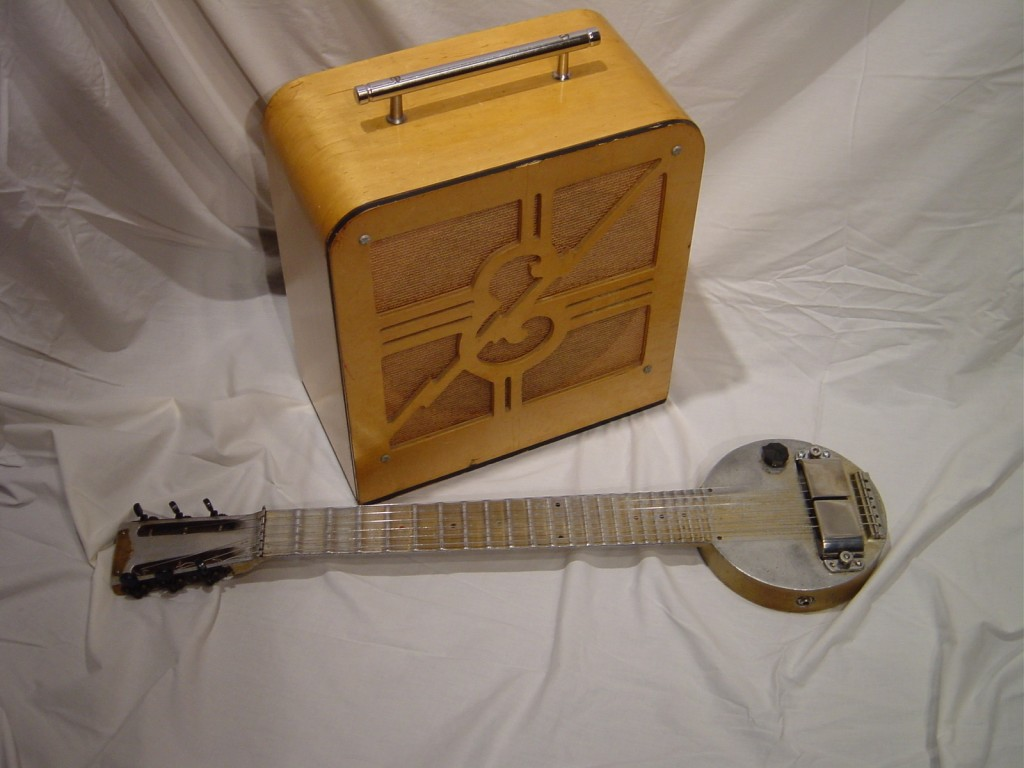 The First Electrical Guitar - Take lessons at Music Makers Calgary