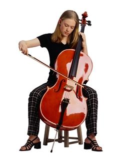 Girl Playing Cello - Music Makers Calgary